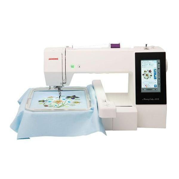 Janome Memory Craft 500E Embroidery Machine Janome Sewing Machines - Fabric Mouse