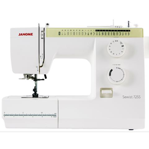 Janome Sewist 725S Sewing Machine-Sewing Machines-Janome-Fabric Mouse