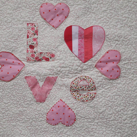 Learn how to do raw edge applique with Ruth-Sewing Class-Fabric Mouse-Fabric Mouse