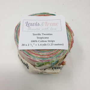 Lewis and Irene Terrific Twenties Tropicana-fabricmouse-Fabric Mouse