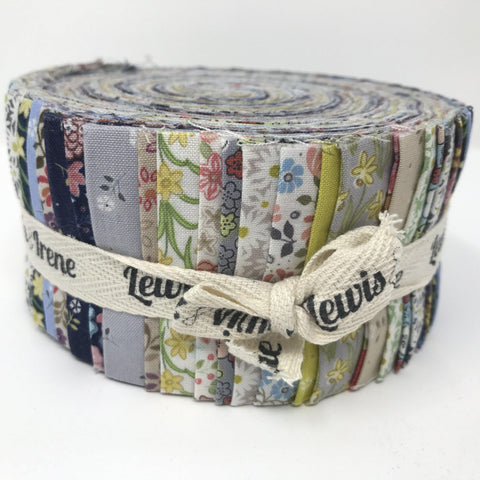 Lewis & Irene Fabulous Forties Flo's Little Flowers-Quilting Pre Cuts-Lewis & Irene-Fabric Mouse