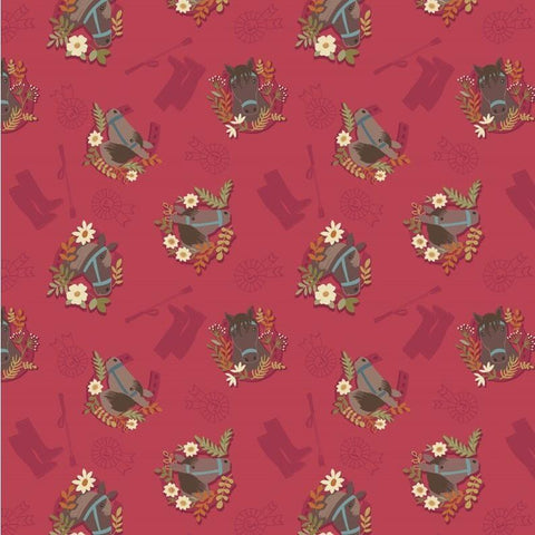 Lewis & Irene Farley Mount Fabric 50cm-Fabric-Lewis & Irene-Fabric Mouse