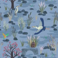Lewis & Irene The Water Meadow 110 cm wide-Fabric-Lewis & Irene-Fabric Mouse
