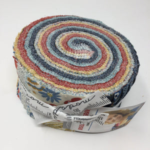 Moda Biscuits and Gravy Jelly Roll from Basic Gray 30480JR-Jelly Roll-Moda-Fabric Mouse