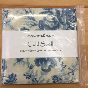 Moda Cold Spell Charm Pack by Laundry Basket Quilts-Charm Pack-Fabric Mouse-Fabric Mouse