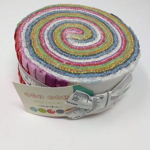 Moda Hey Dot Jelly Roll by Zen Chic 1600JR-Fabric-Moda-Fabric Mouse