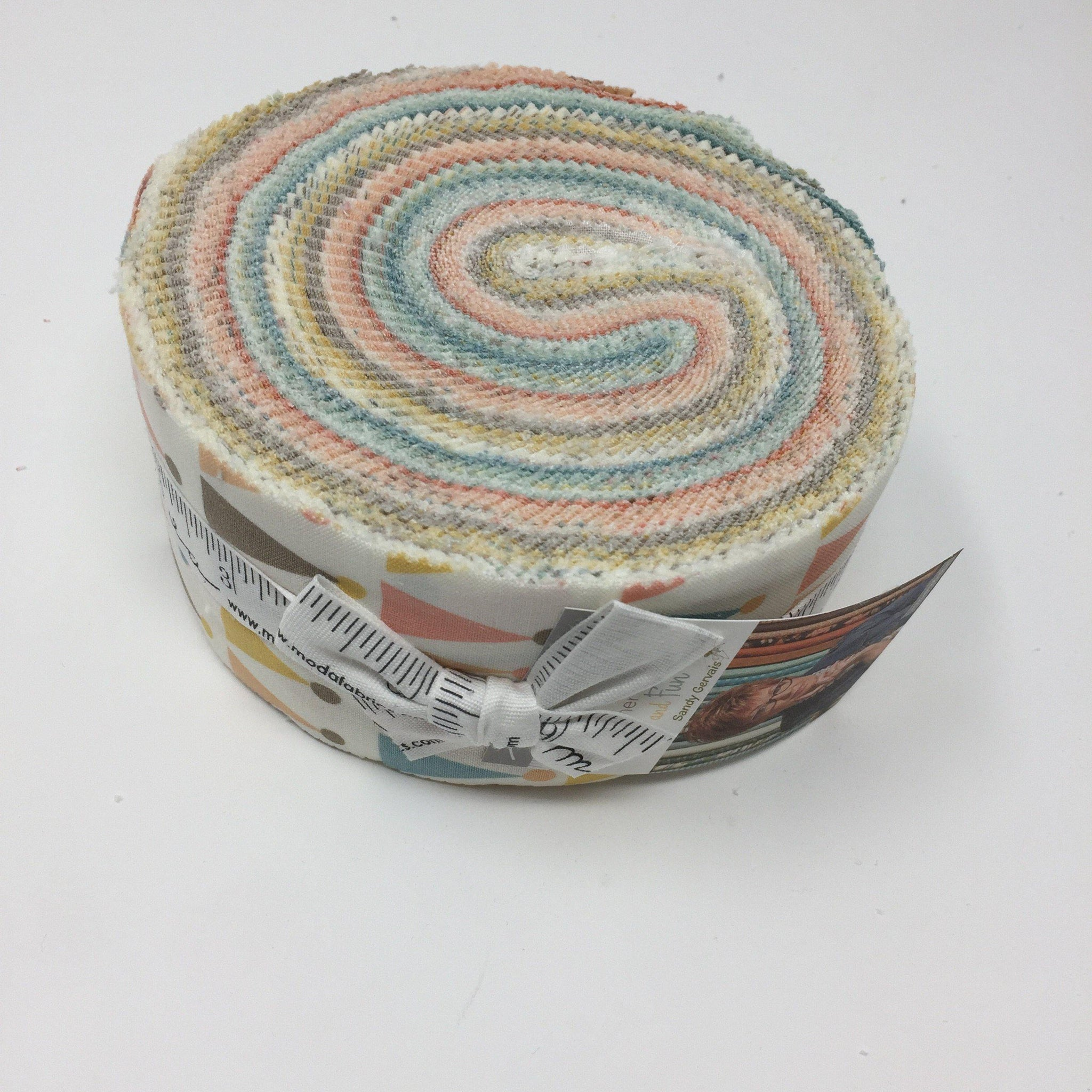 Moda Jelly Roll corner of 5th & Fun 17900JR-Jelly Roll-Fabric Mouse-Fabric Mouse