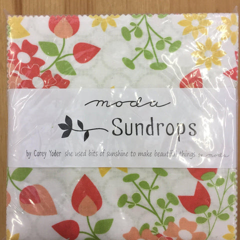 Moda Sundrops Charm Pack by Corey Yoder-Charm Pack-Fabric Mouse-Fabric Mouse