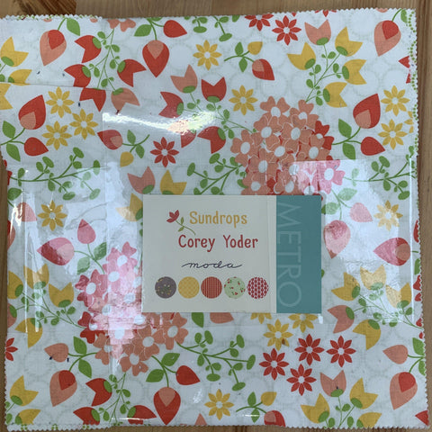 Moda Sundrops Layer Cake by Corey Yoder-Layer Cake-Moda-Fabric Mouse