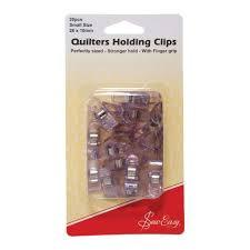 Quilters Holding Clips-fabricmouse-Fabric Mouse