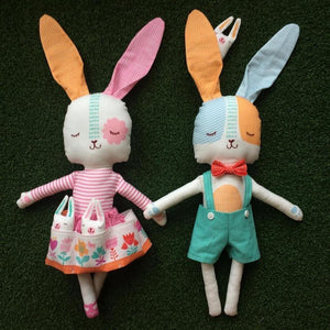 Soft Toy Class (Discounted to £30.00 including Fabric)-fabricmouse-Fabric Mouse