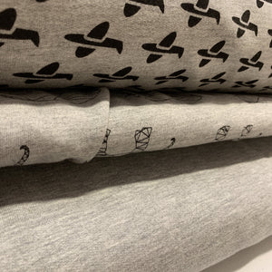 Stof Avalana Jersey Sweat Fabric 150cm-Dressmaking Fabric-Stof-Fabric Mouse