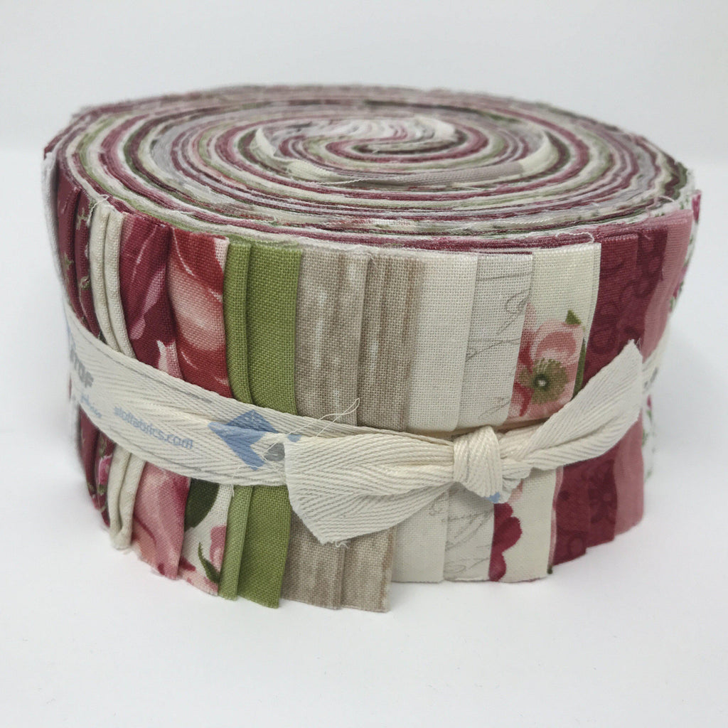 "Stof Fabric Jelly Rolls - 40 precut 2.5"" x 43""-fabricmouse-Fabric Mouse"