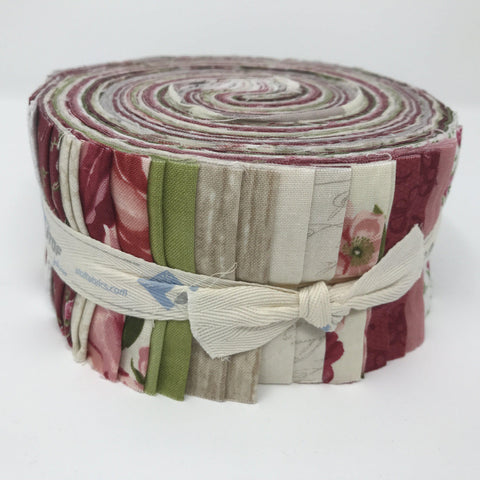 "Image of Stof Fabric Jelly Rolls - 40 precut 2.5"" x 43""-fabricmouse-Fabric Mouse"