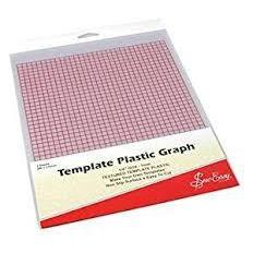 Template Plastic Graph-fabricmouse-Fabric Mouse