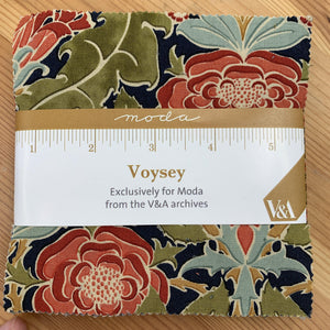 Voysey Charm Pack by V&A for Moda Quilt Fabrics-Charm Pack-Moda-Fabric Mouse