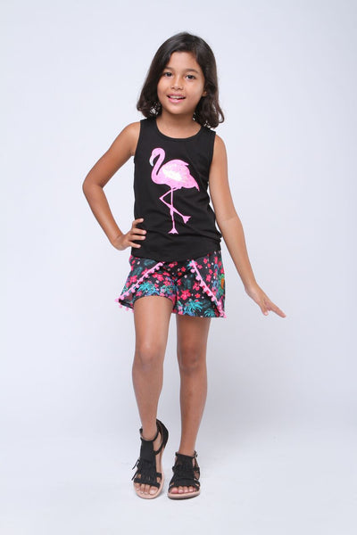 Haven Girl Flamingo Skye Tank