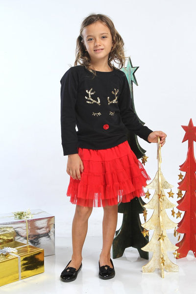Haven Girl Reindeer Sweatshirt