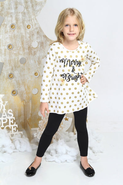 Haven Girl Merry & Bright Swing Tunic