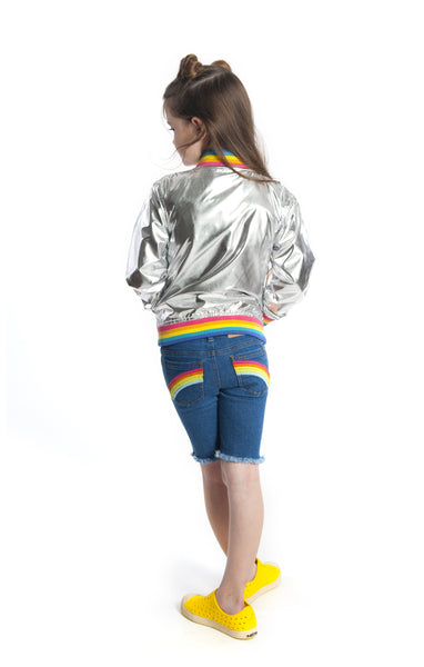Appaman Rainbow Jean Shorts