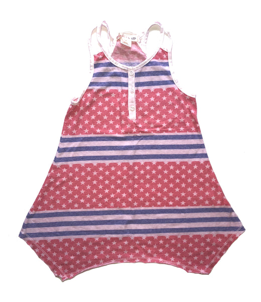 Ragdoll & Rockets Independence Day Double Strap Tank