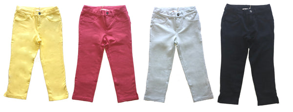 Ragdoll & Rockets Cashmere Terry Mary Jean Capri (4 Colors)
