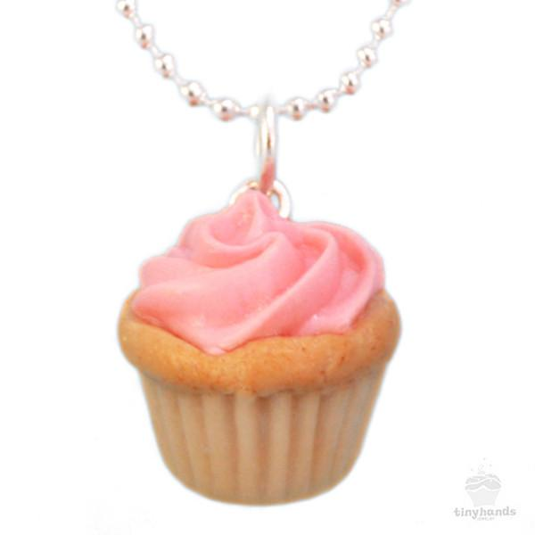 Tiny Hands Scented Birthday Cupcake Necklace