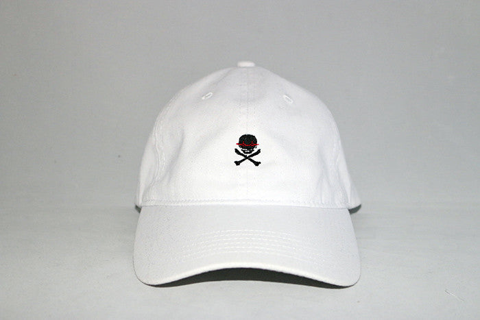 Life Over Death white dad cap - Anthems Designs 4b4d224c0f14