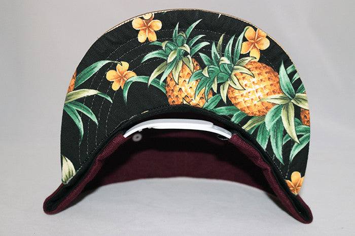 Farmers Market Hawaii gold pineapple snapback - Anthems Designs e2d72729ee9