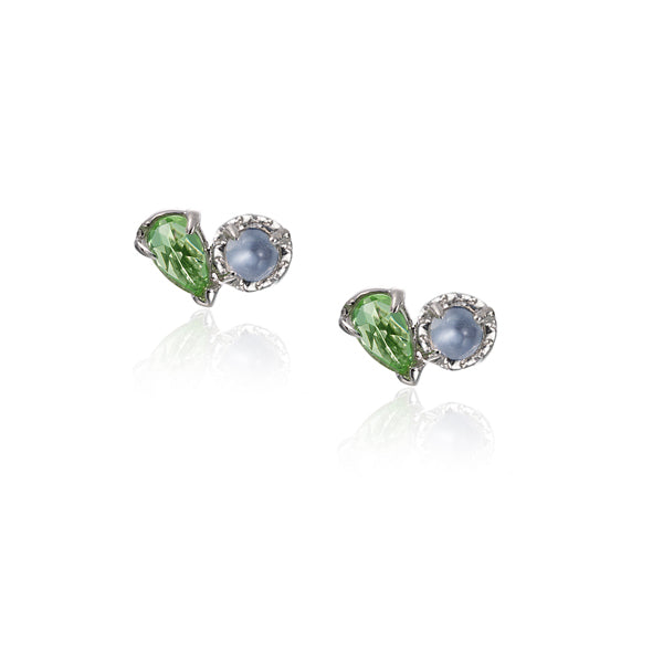 LPG Mimi Deux Stud Earrings- Sterling Silver