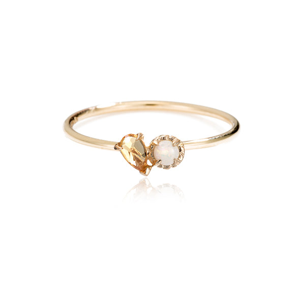 LPG Mimi Deux Ring- 14K Yellow Gold Vermeil