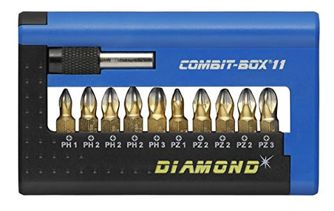 (28452) JGO PUNTAS DE CRUZ COMBIT-BOX 11 DIAMOND PH Y PZ