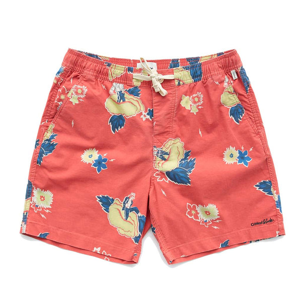 Tcss Ziggy Boardshorts - Cherry