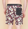 TCSS Pysche Fixed Waist Boardshorts - Wine