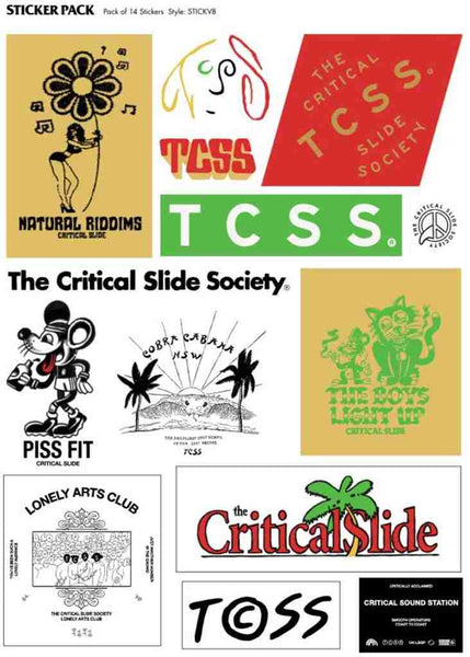 Tcss Sticker Pack - Assorted