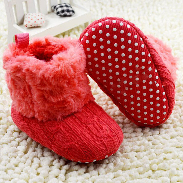 Baby Crochet/Knit Boots