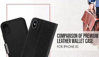 Comparison of Otterbox Strada Folio & Casemate Leather Folio for iPhone Xs/X