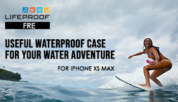 Lifeproof Fre Waterproof Case for iPhone Xs Max: Useful Waterproof Case for Your Water Adventure