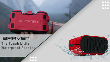 Braven BRV-1 HD Wireless Bluetooth Speaker Review : The Tough Little Waterproof Speaker