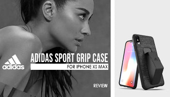 Adidas Sport Grip Case for iPhone XS Max Review
