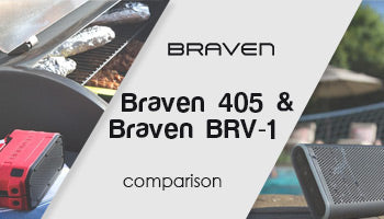Braven 405 & Braven BRV-1 HD Wireless Bluetooth Speaker Comparison