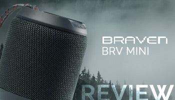 Braven BRV-Mini Rugged Portable Speaker Review