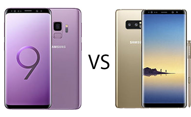 Samsung Galaxy S9 Vs Samsung Galaxy Note 8: Which Phone is Suitable for You?