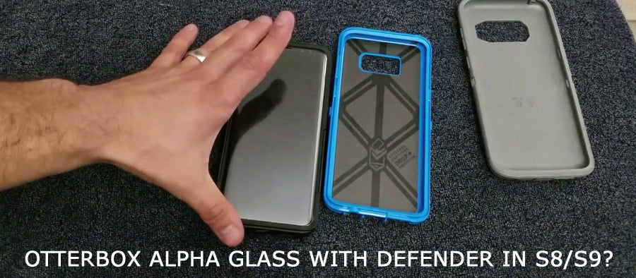Can Alpha Glass Fit Otterbox Defender For Samsung S8