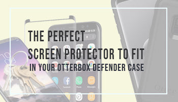 The perfect screen protector to fit in your Galaxy S9 Otterbox Defender case
