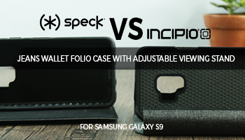 Incipio Carnaby Esquire Card Folio Case vs Speck Presidio Impactium Folio Case