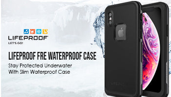 Lifeproof Fre Waterproof Case for iPhone XS : Stay Protected Underwater With Slim Waterproof Case