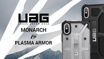 UAG Monarch Handcrafted Leather Alloy Case vs UAG Plasma Armor Shell Case