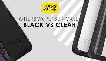 Otterbox Pursuit Case Comparison : Black vs Clear Pursuit Case, Which is More Protected?