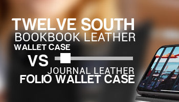 Twelve South Bookbook Leather Wallet Case vs Twelve South Journal Leather Folio Wallet Case